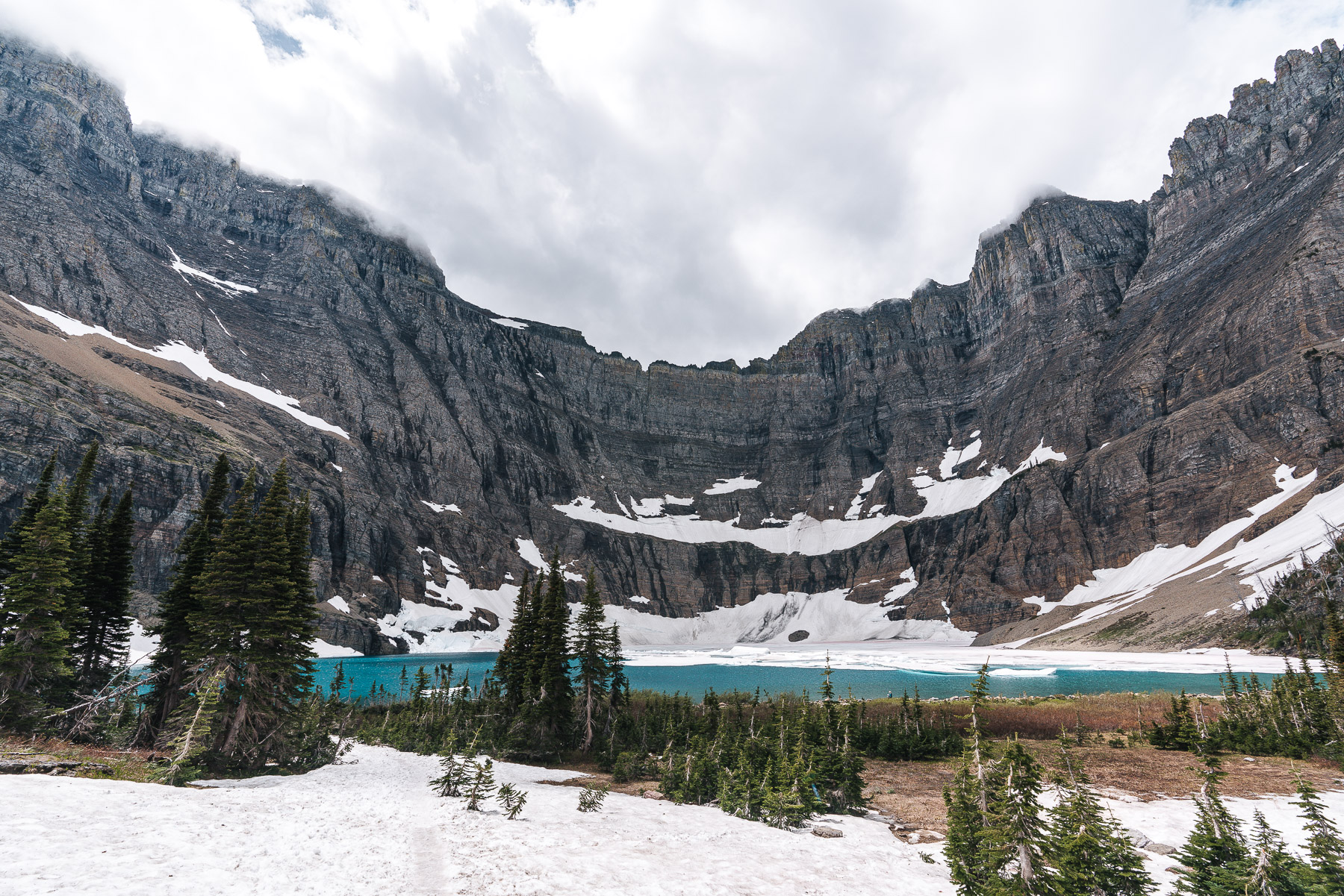 A New Favorite Hike to Iceberg Lake in Glacier National Park ...