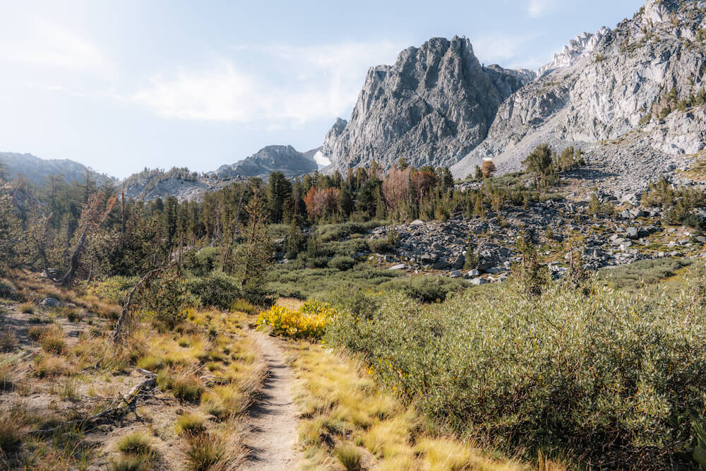 Hiking to Sky Meadows in Mammoth Lakes Basin